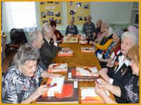 Заседание Совета ветеранов ВОВ
