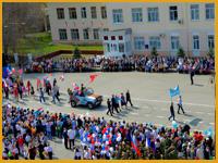 Поздравляем с 1 мая и Днем Победы!